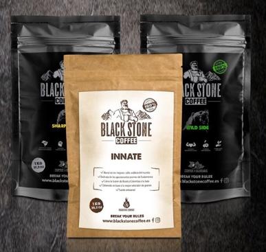 nuevo formato un kilo black stone coffee